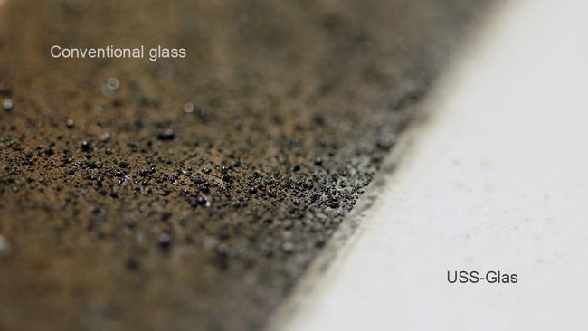 also Studio//Studio Bohrl/öcher Sehr hochwertige Qualit/ät Made in Germany v Glast/ür Ganzglast/ür Dreht/ür aus ESG-Glas LEVIDOR /® in Milchglas mit senkrechten Streifen 709x1972 mm f/ür Studio Griff und Studio B/änder BxH